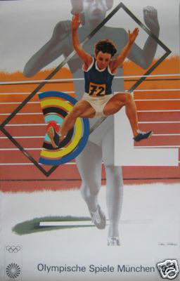 Munich Olympic Poster