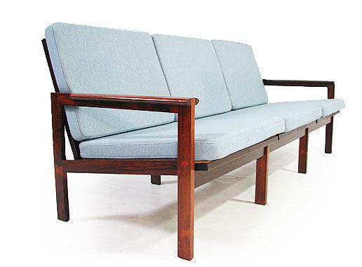 Rosewood Sofa Model No.4