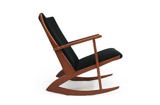 George Jensen Teak Rocking Chair