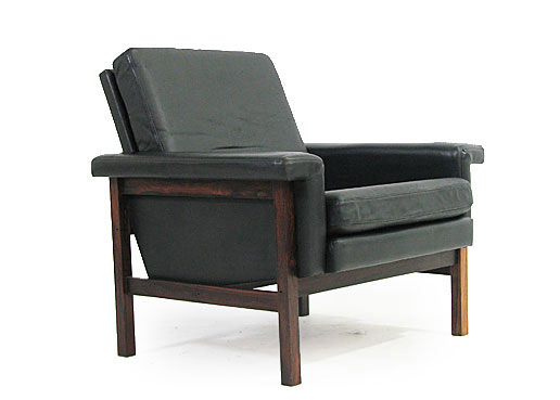 Rosewood - Leather Armchairs