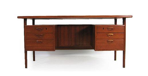 Teak Desk Model Fm58