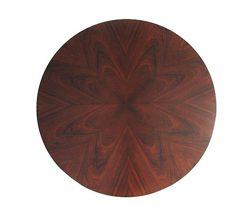Diamond Cut Rosewood Table