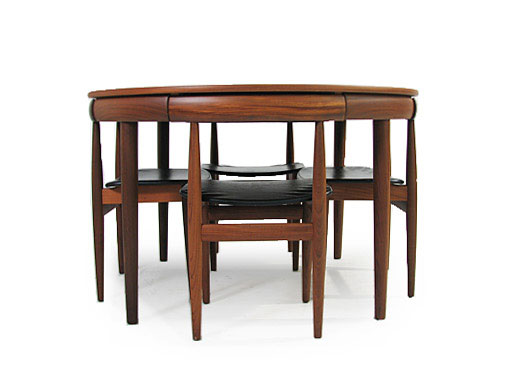6 Chair Extending Dinining Set Roundette 631