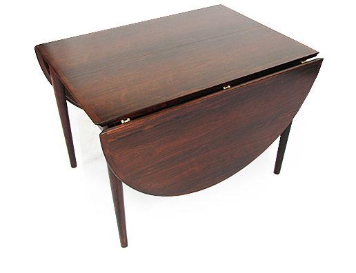 Large Rosewood Arne Vodder Dining Table