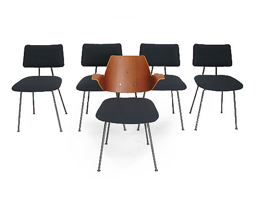 4 Robin Day hille dining chairs