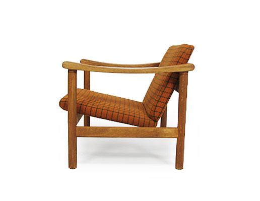 Pair Of Hans Wegner Oak Chairs