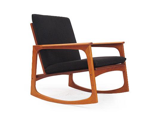 Hans Olsen Teak Rocking Chair