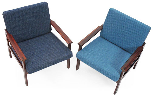 Illum Wikkelso Rosewood Chairs