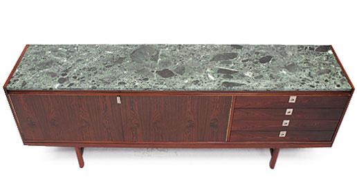 Robert Heritage Rosewood And Marble Sideboard….1