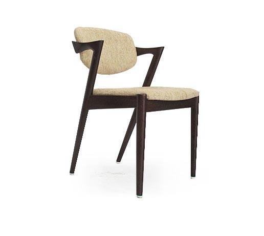 6 Dark Oak Kristiansen Dining Chairs