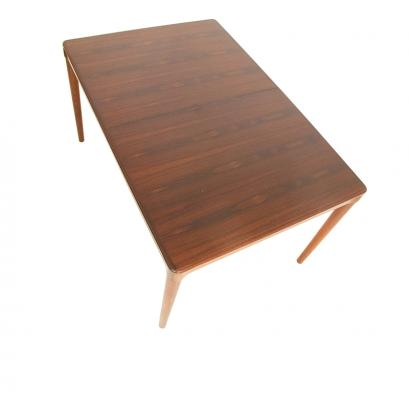 Rosewood Extending Rectangle Dining Table 1