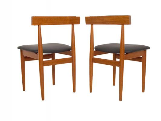 6 Chair Extending Rectangle Hans Olsen ...