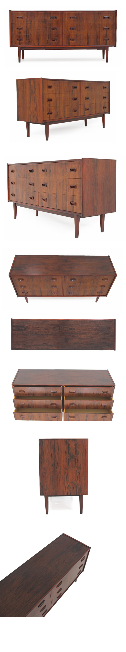 ROSEWOOD DOUBLE CHEST/SIDEBOARD